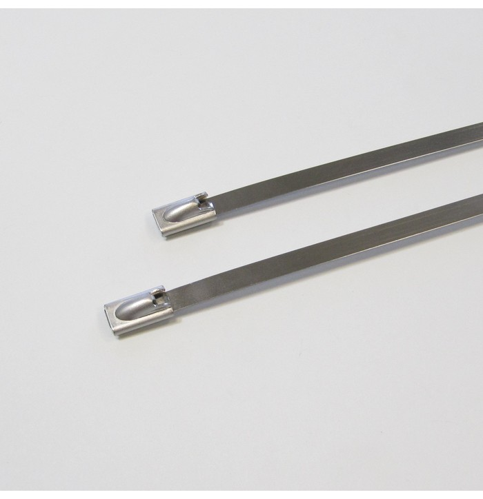 Stainless steel cable ties image